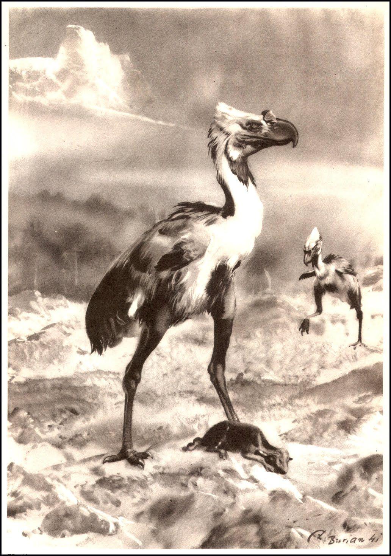 Zdeněk Burian (1905-1981) | Prehistoric Animals (1960)