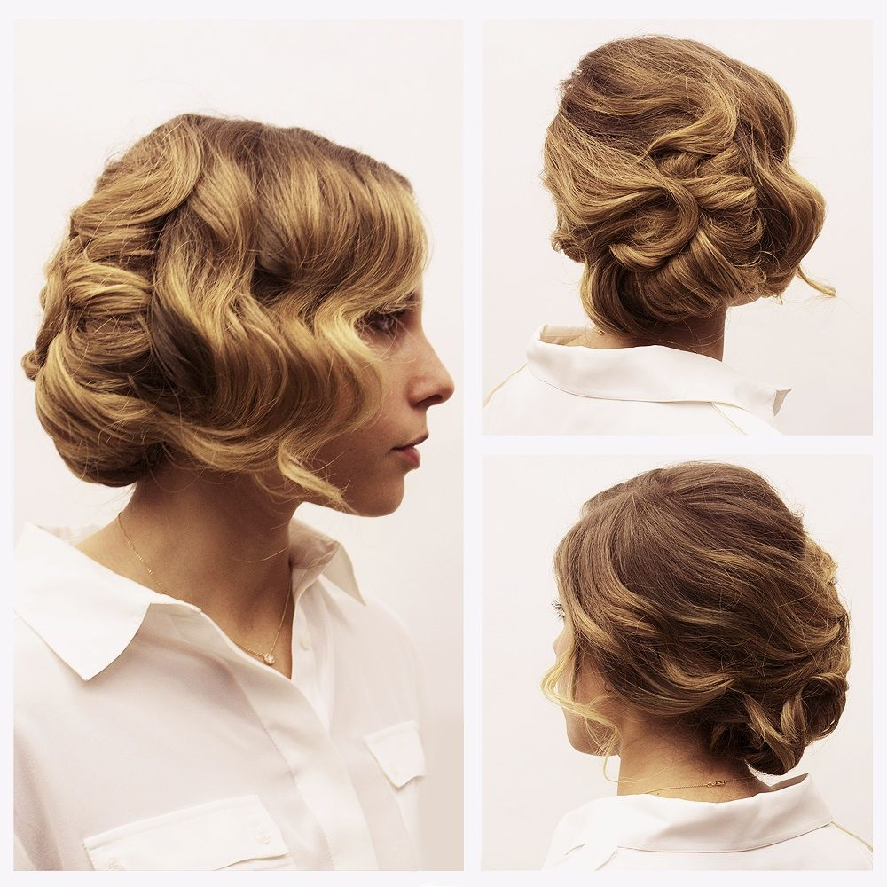 Tuto coiffure le chignon crant coiffure pinterest tuto coiffure les chignon et chignon - Chignon annee 20 ...