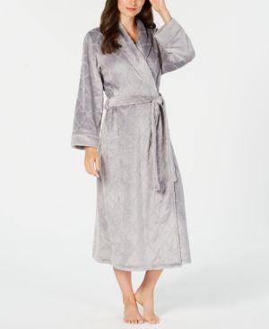 8cf252d8c0 Charter Club Long Floral Wrap Robe