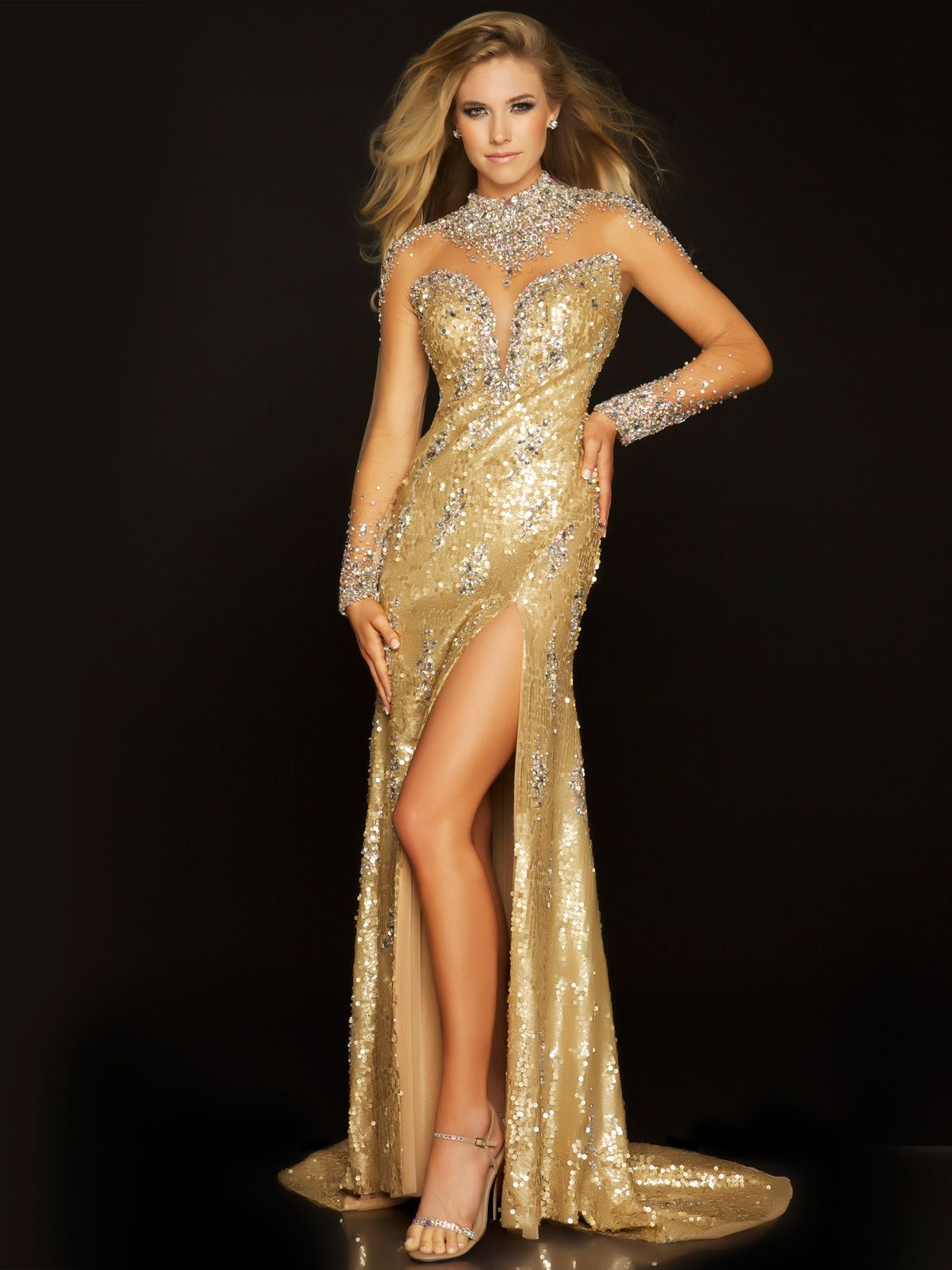 The mac duggal pageant evening gown p is a classic pageant