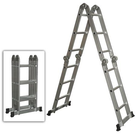 Home Improvement With Images Aluminium Ladder Step Ladders Folding Ladder