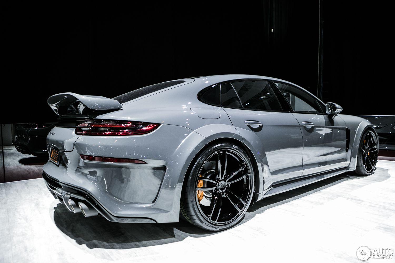 Geneve 2017 Porsche Panamera Techart Grandgt Porsche Panamera Porsche Sports Car Porsche 2017 techart porsche panamera grand gt