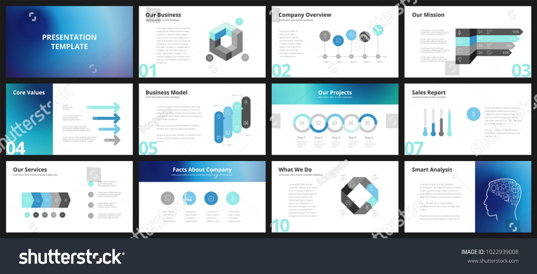 Business Presentation Templates Vector Infographic Elements For Company Presentatio Business Presentation Templates Company Presentation Business Presentation