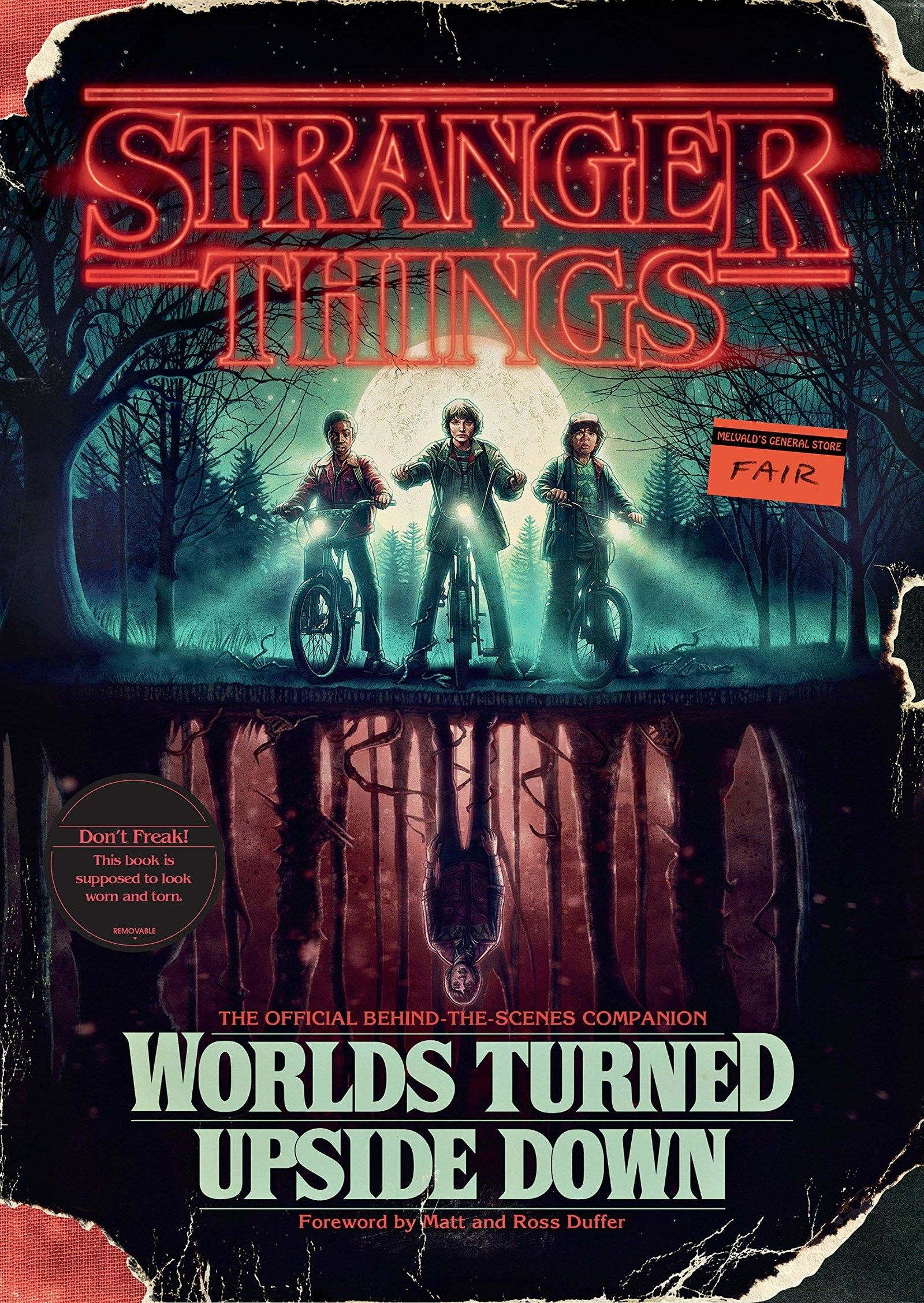This Stranger Things Worlds Turned Upside Down Book The Official Behind The Scenes Companion Guide To The First Two Seasons Stranger Things Upside Down Stranger Things Stranger Things Have Happened