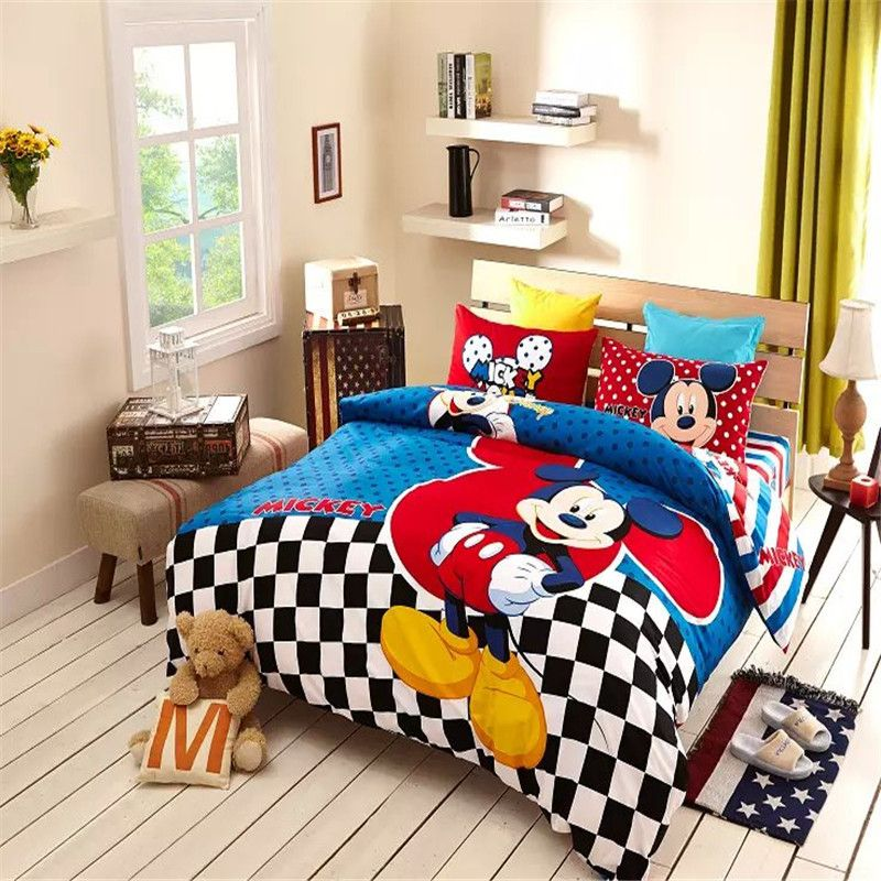 Fabelhafte Mickey Mouse Schlafzimmer Sets Beliebten Mickey Mouse