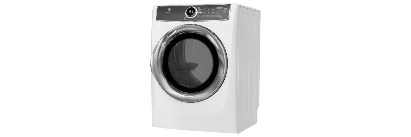 Electrolux Appliances Front Load Perfect Steam™ Gas Dryer with Instant Refresh and 9 cycles - 8.0. Cu. Ft. EFMG617SIW