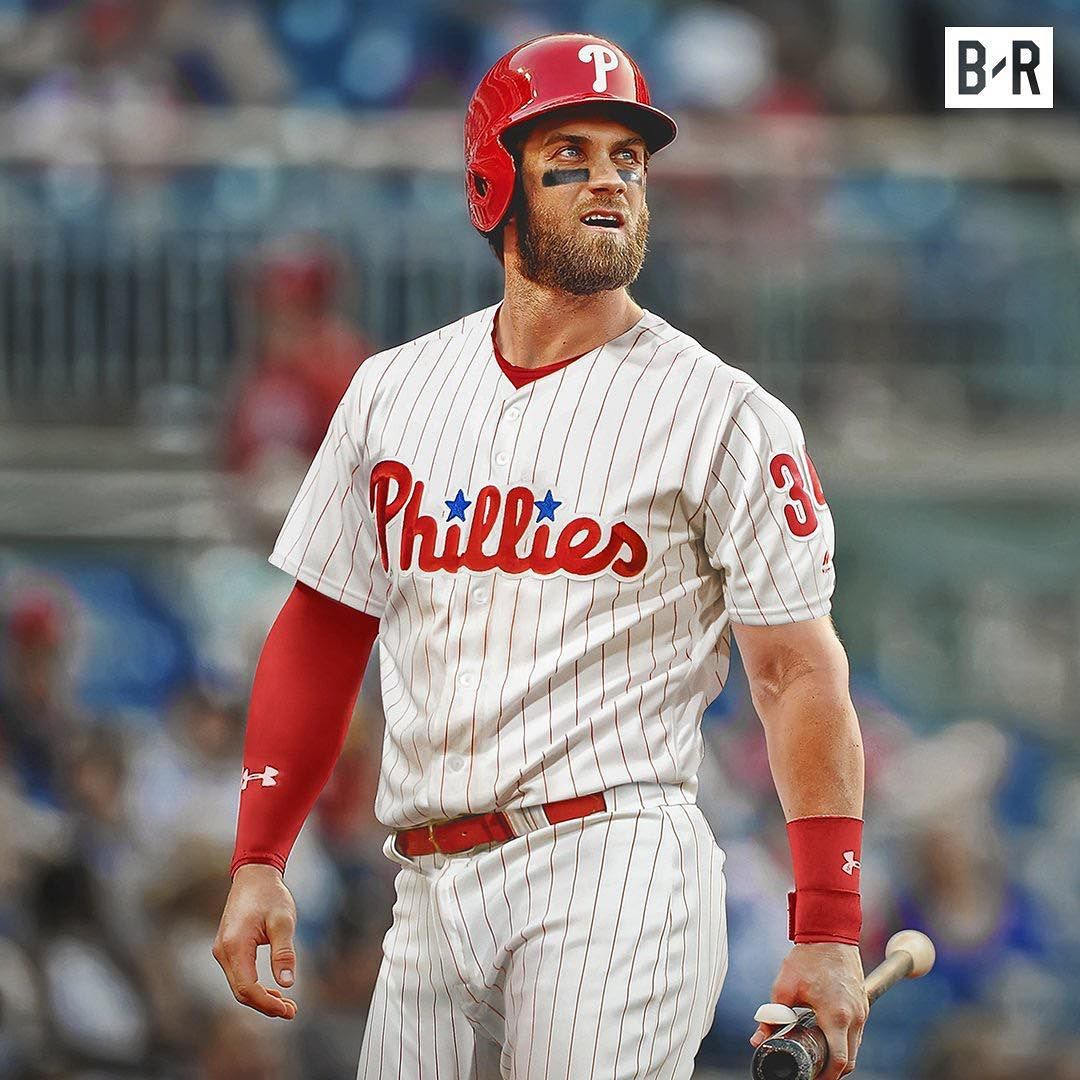 Bryce Harper secured the bag! 13 years, 330 million ...