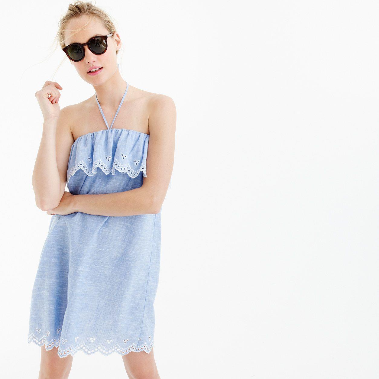 1a32de99cc J.Crew Womens Eyelet Beach Dress (Size XXS) | Products | Dresses ...