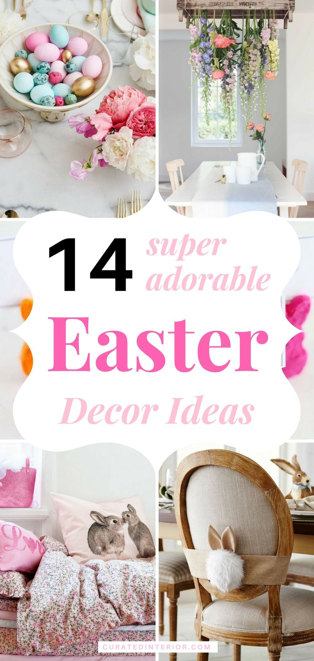 Easy Easter ideas to decorate your home picture