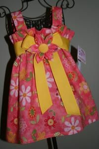 SUMMER QUILT Strapped Sundress. Size 2T ONLY. $28 Buy and Sell Crafts Online | Handmade Crafts to Sell? Free Posting