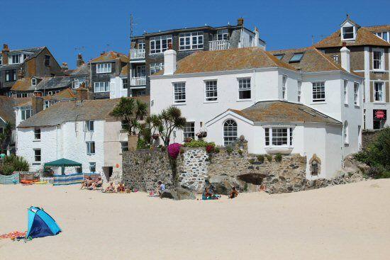 Harbour Beach St Ives Cornwall England Devon And Cornwall St Ives Cornwall