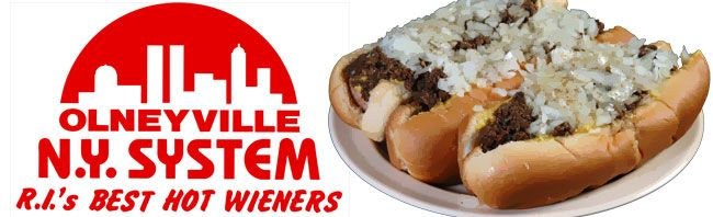 New York System Hot Weiners. Only in Rhode Island!