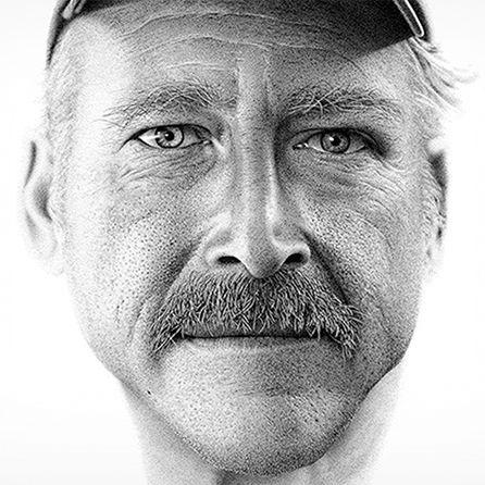 Portrait of 2.1 Million Dots by Miguel Endara