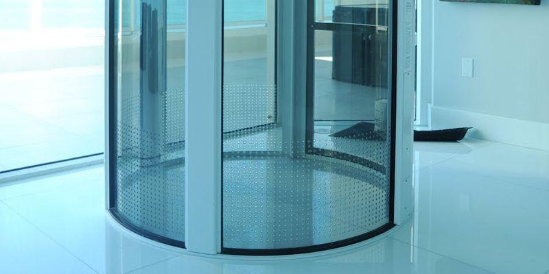 Residential vacuum glass elevator Decoração