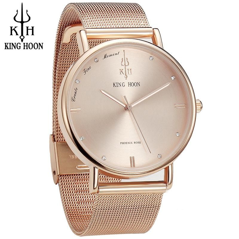 fd94b2698aa Women Watches Brand Top Luxury Ultrathin 40mm Casual Rose Gold Quartz  Wristwatches Relogio Feminino Montre Femme Relojes