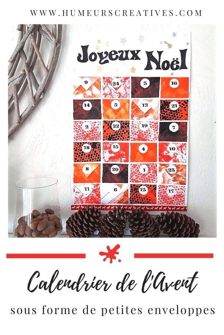 Calendrier de l'Avent avec petites enveloppes, à fabriquer avec les enfants - #calendrierdelaventfaitmaisontissu En manque d'idées pour réaliser un calendrier de l'avent fait maison avec votre enfant ? Voici une idée simple et facile. Réaliser des petites enveloppes où vous pourrez cacher des petits chocolats, des photos, des coupons ou d'autres surprises. Un bricolage de Noël à partager avec votre enfant. #calendrierdelavent #calendaradvent #bricolagecalendrieravent #diycalendrierave
