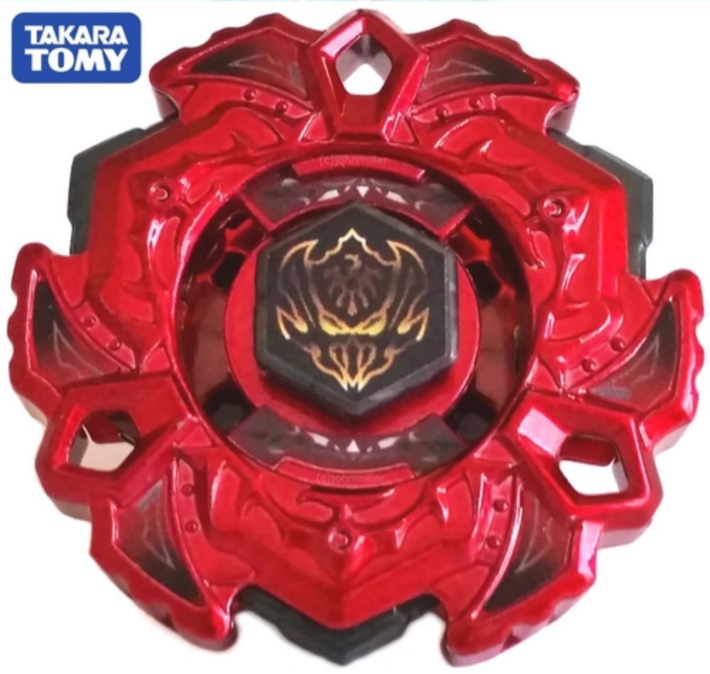 HASBRO RED Fang Leone W105R2F Rare WBBA BURNING CLAW Beyblade TAKARA TOMY