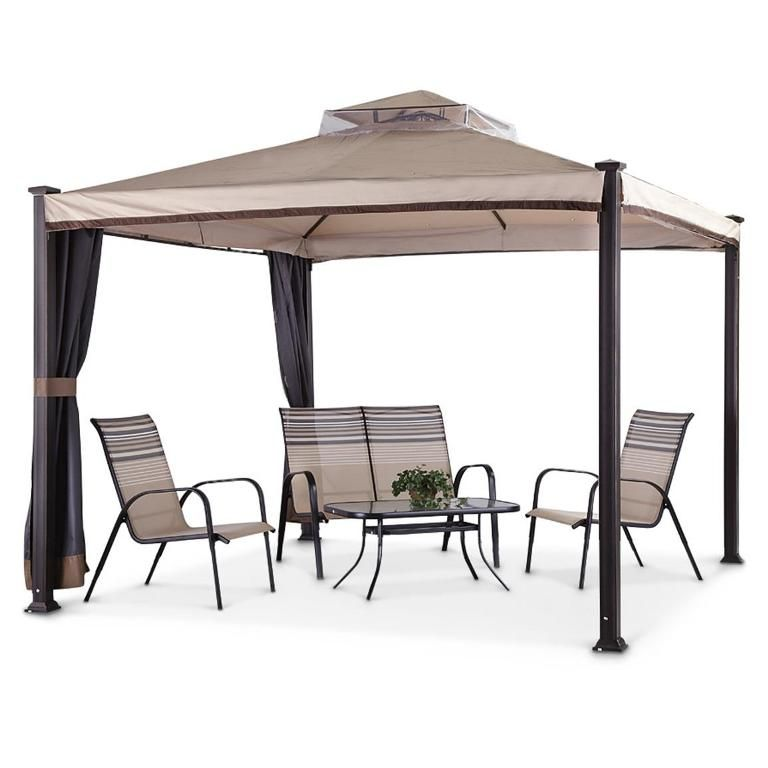 essential garden gazebo. Exterior: Fabulous 10x10 Gazebo Replacement Canopy Famous Maker Everton Essential Garden Ridgeway