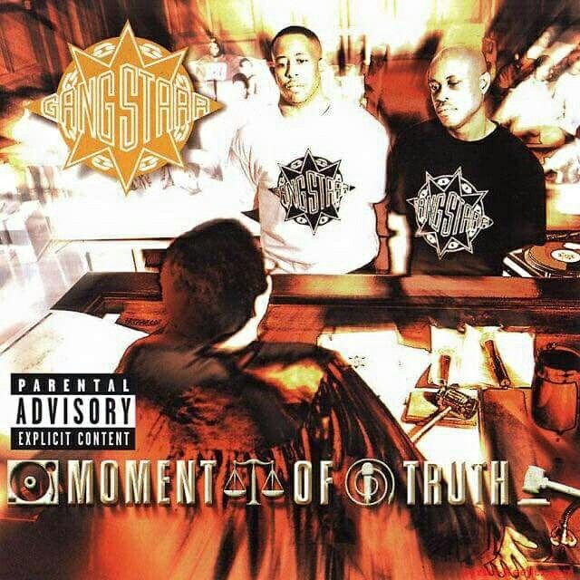 """18 years ago today Gang Starr dropped a masterpiece entitled """"Moment Of Truth"""". #RIPGURU"""