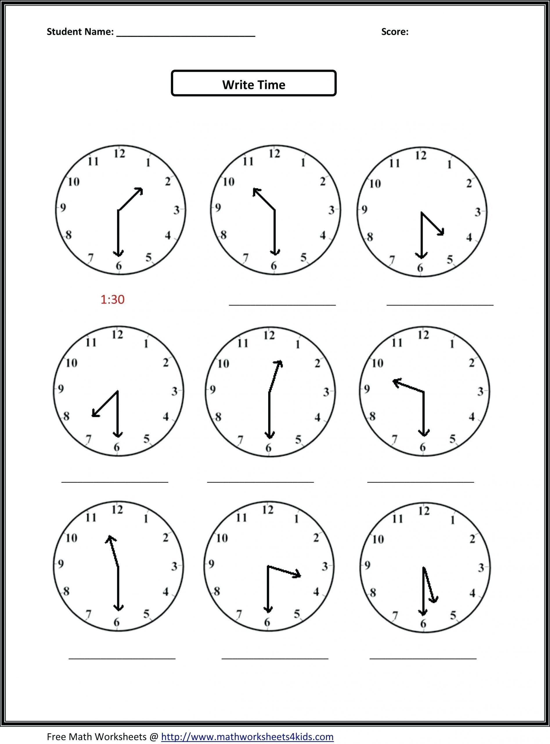 4 Free Math Worksheets Second Grade 2 Addition Add 3 Single Digit