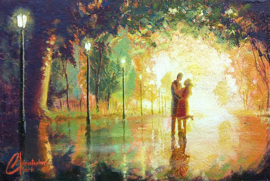 Magical Moment Painting - Magical Moment Fine Art Print ...