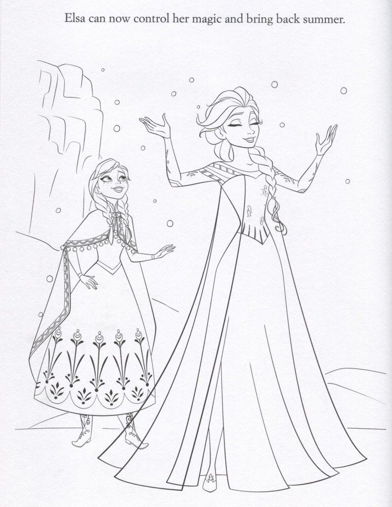 Frozen+Coloring+Pages Gallery of Frozen Coloring Pages