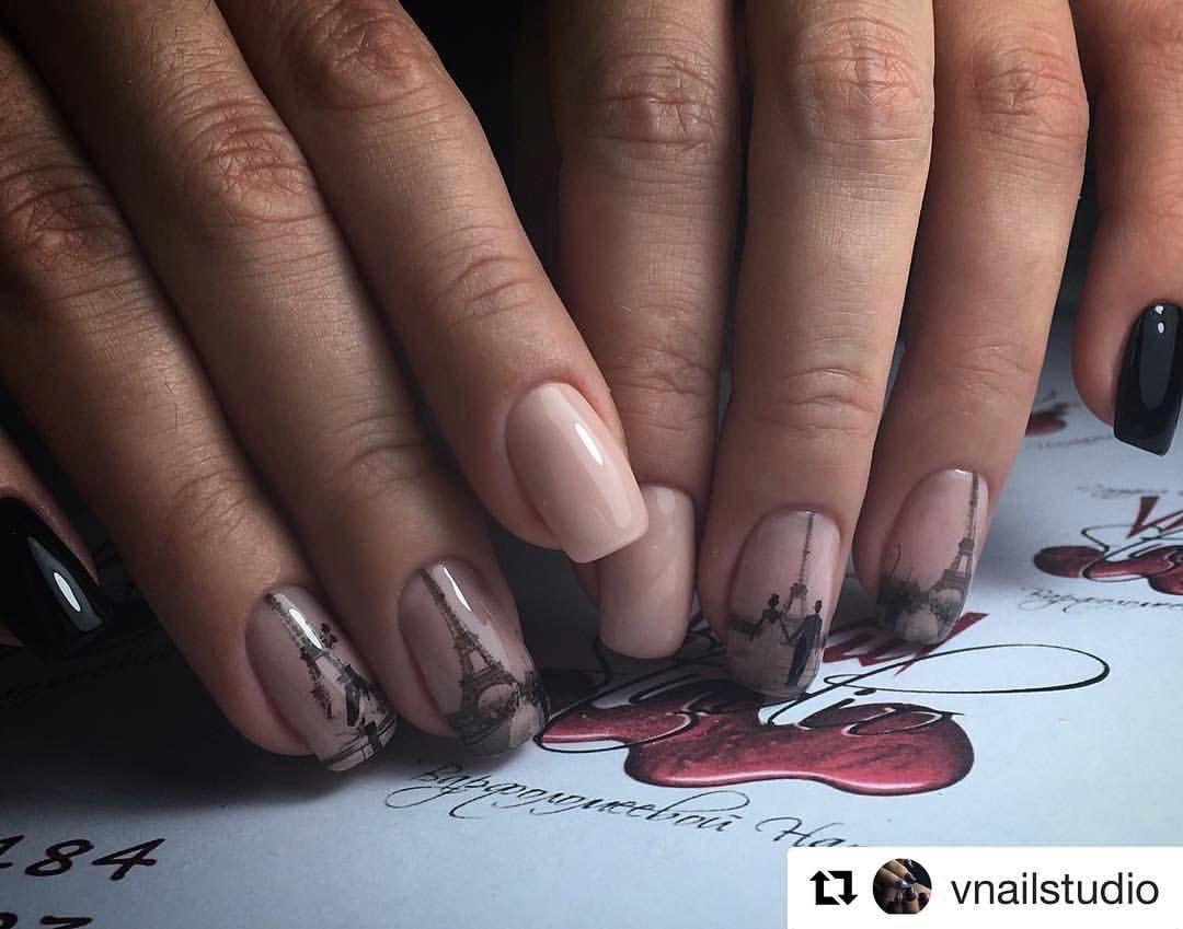 Nail Art 2811 Best Nail Art Designs Gallery Eiffel Tower Nails