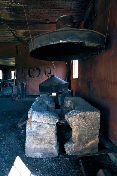 Brazeau Collieries Nordegg Alberta Canada Abandoned Coal Mine Blacksmith Forge Photo