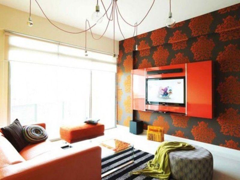 Innenarchitektur Malerei Wände Wohnzimmer #Wand Wand Pinterest