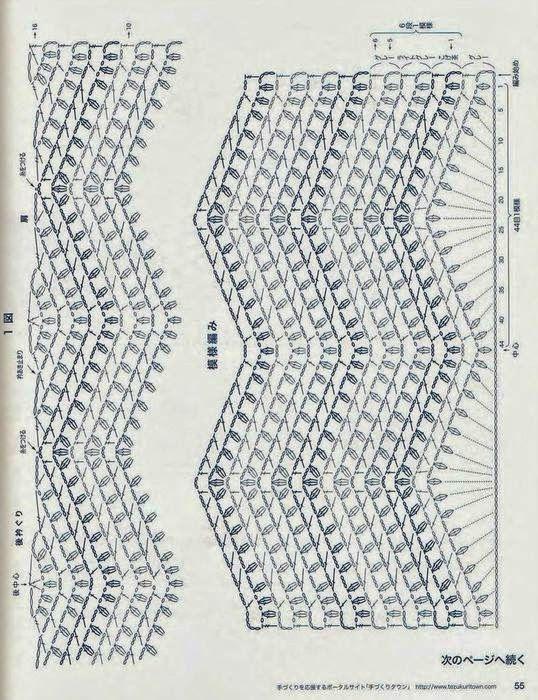 Marisabel crochet: Sueter en zig zag | Tejidos | Pinterest ...