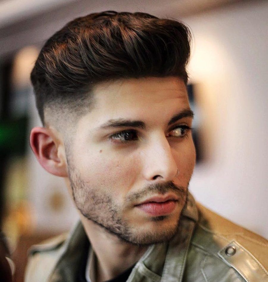 the best new men's haircuts to get in 2018 | low fade haircut, low