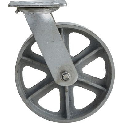 8in Swivel 1000 Lb Capacity Steel Caster Steel Casters Diy Wood Projects Building A Kitchen