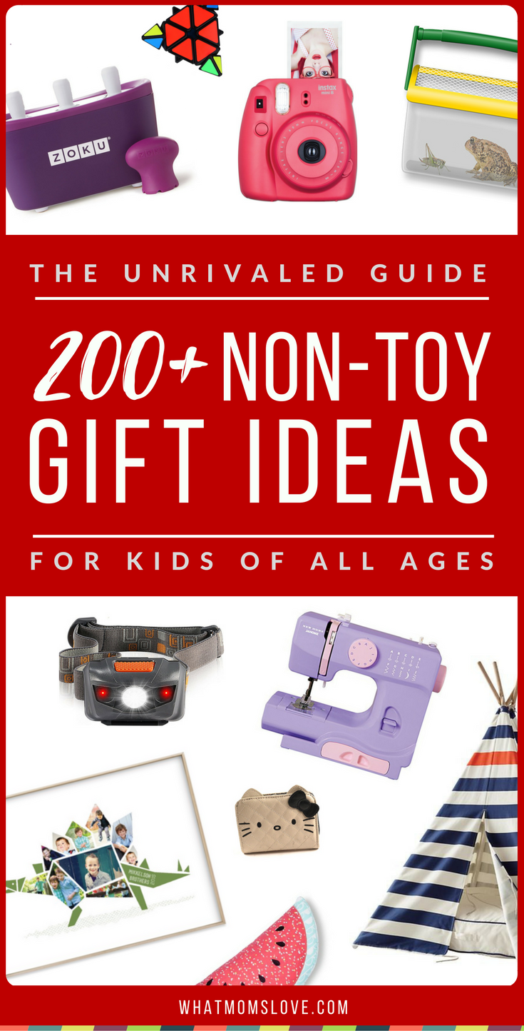 The Unrivaled Guide To NonToy Gifts. 250+ Meaningful