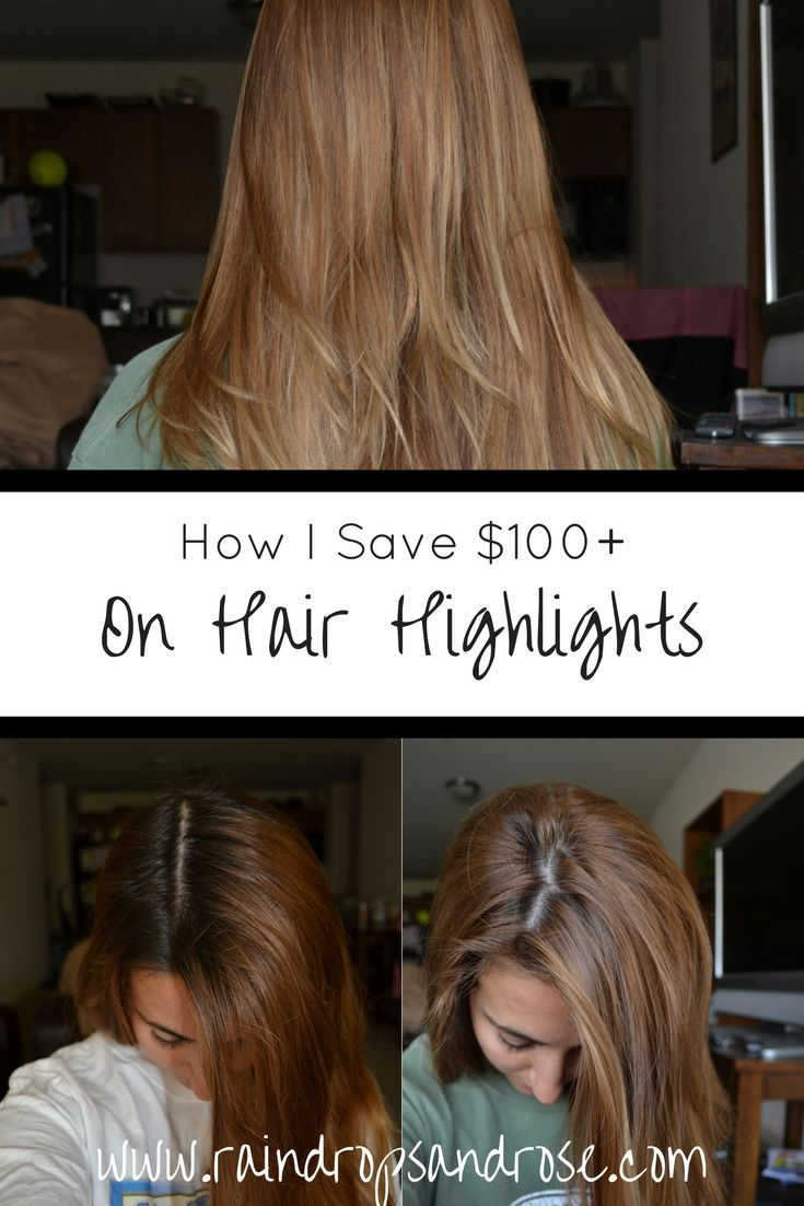 How To Highlight Hair At Home Diy Highlights Without Bleach Learning