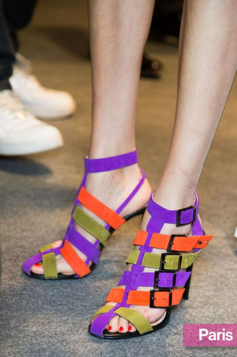 I love these shoes. I don t know why. I ll never wear them. But something  about them appeals to me. They made me smile. - dodie Spring 2015 Shoe  Trends  ... 0873a5ebbc9