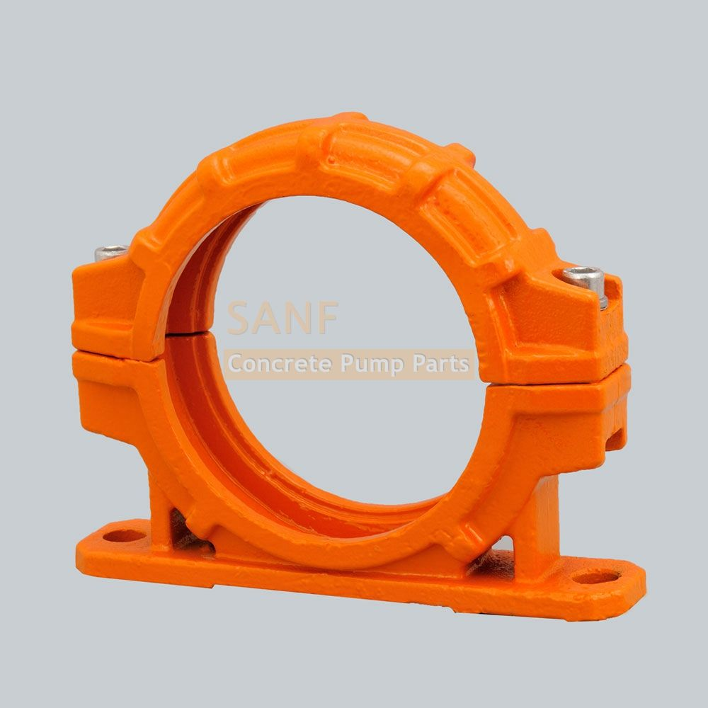 Zoomlion two hole mounted bolt coupling #Concretepumpspareparts