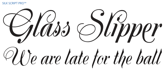 This Is An Example Of Formal Script Typography Because The Writing Something That You Would See In 17th And 18th Century