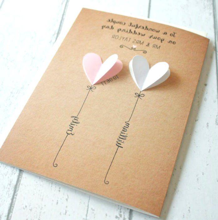 1001 Diy Ideen Und Anleitungen Zum Hochzeitskarte Basteln Handmade Crochet Hochzeitseinladungen Diy Karte Hochzeit Hochzeitskarte Basteln