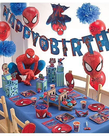 Christy Crawford Ccrawford0010 Cumpleaños Hombre Araña Hombre Araña Fiesta Fiesta De Spiderman Decoracion