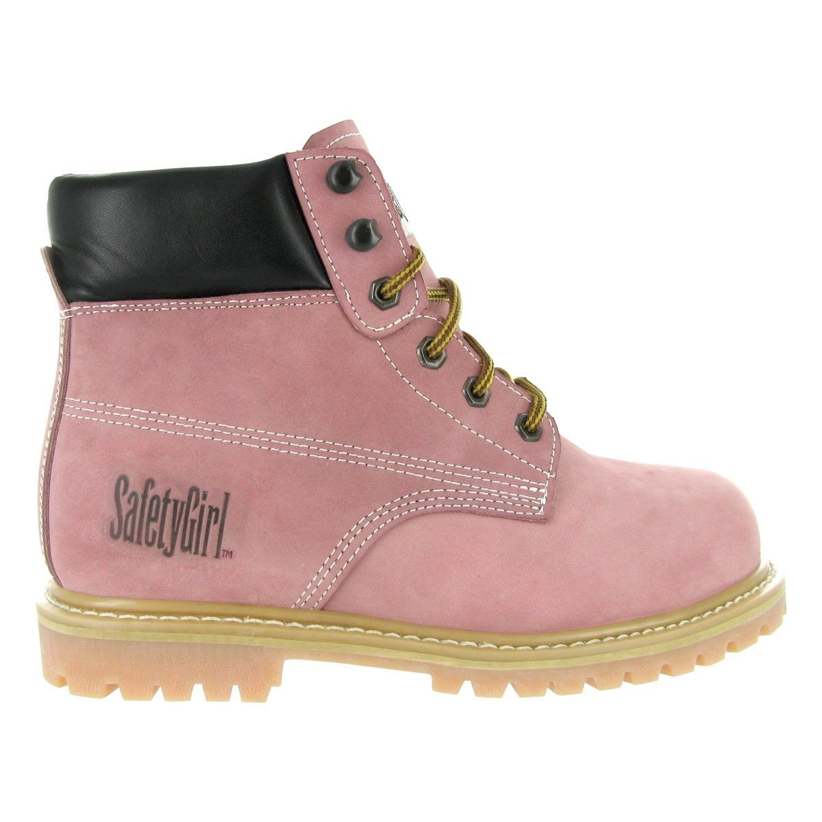 Comfortable steel toe boots