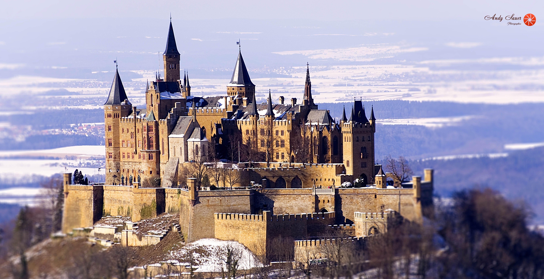 Burg Hohenzollern Castles Landscape Winter Instagram
