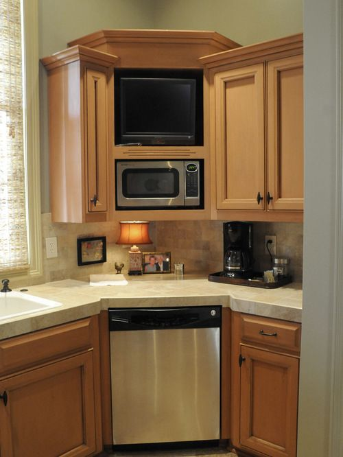 Corner Dishwasher Ideas Pictures Remodel And Decor