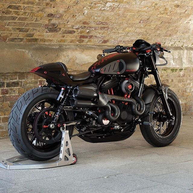 Warr's Phantom 48 by @bubble_visor at Warr's Harley-Davidson London