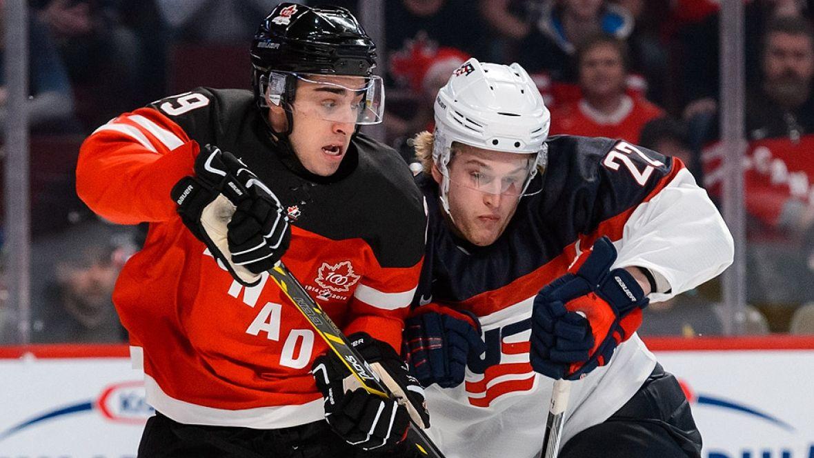 Canada U S To Meet On Boxing Day At 2016 World Juniors Cbc Sports World Junior Hockey Hockey News Sport Hockey