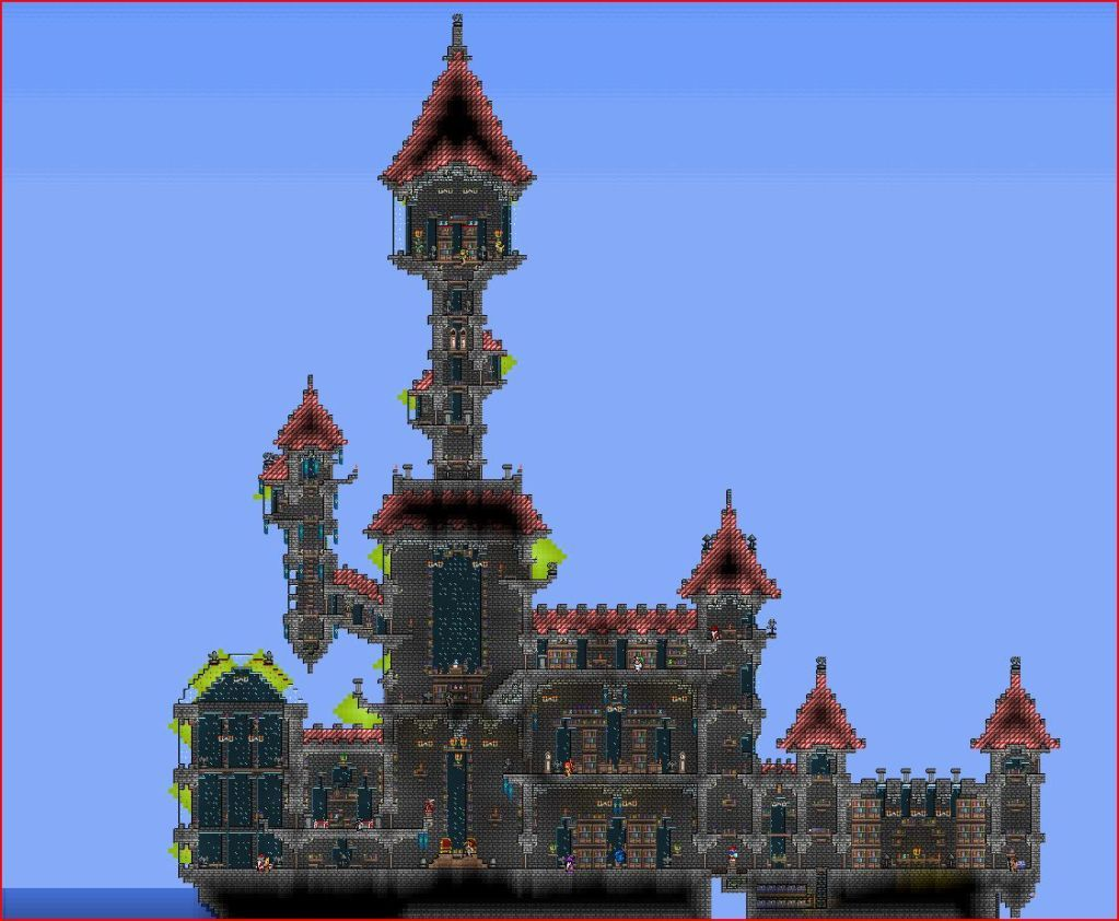 Terraria castle tower castle tower any tips terraria - Did Somepony Say More Towers