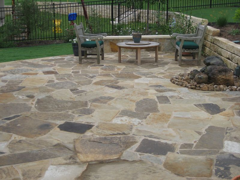Texas Limestone U0026 Flagstone Patios In Austin. Custom Flagstone Patio Design  And Installations To Create Your Custom Outdoor Design At Home!