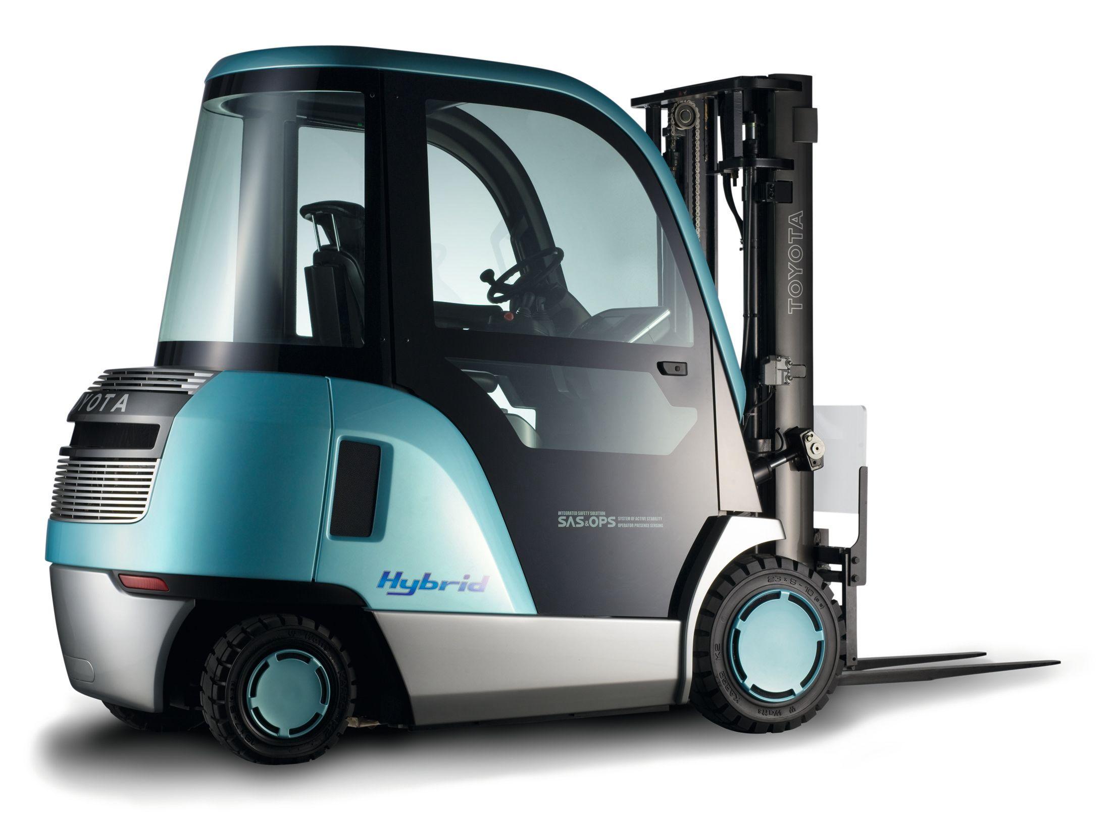 Toyota Hybrid Forklift Truck Design Toyota Hybrid Toyota