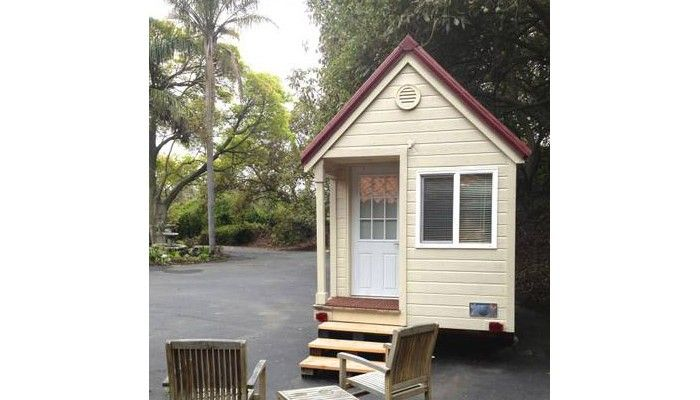 fallbrook tiny house tiny house vacations for rent tiny homes on wheels pinterest. Black Bedroom Furniture Sets. Home Design Ideas