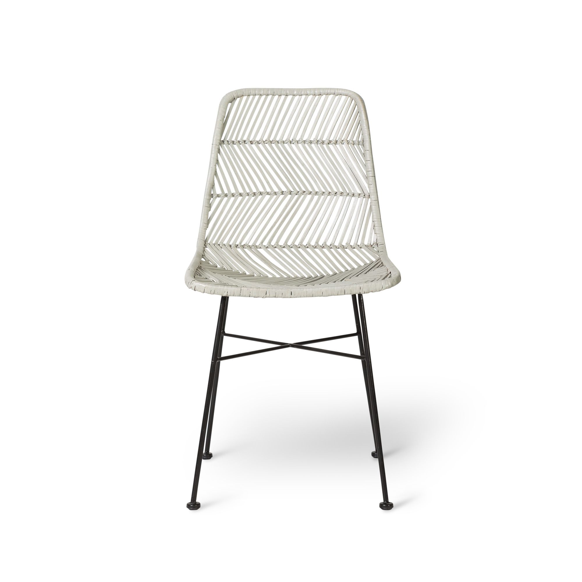 Buy the Grey Roro Rattan Chair at Oliver Bonas We deliver
