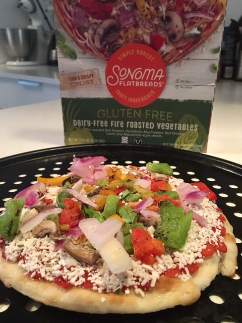 National Eat Your Vegetables Day With Sonoma Flatbreads Dairy